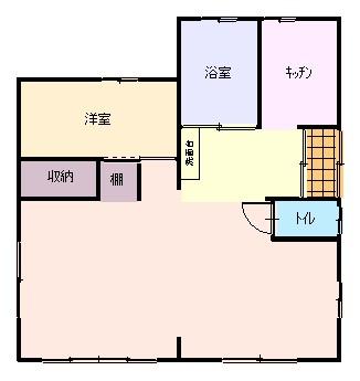 【中古住宅】藤枝市築地 バリアフリーの平屋建て